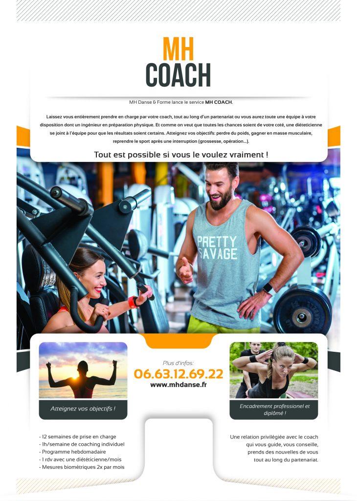 Affiche MH Coach